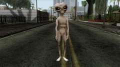 Zeta Reticoli Alien Skin from Area 51 Game for GTA San Andreas