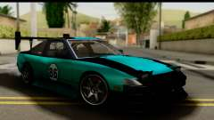 Nissan 200SX S13 Skin for GTA San Andreas
