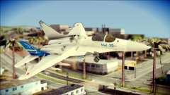 MIG-29 Fulcrum Reskin for GTA San Andreas