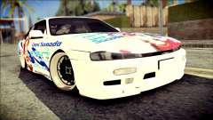 Nissan Silvia S14 Umi Sonoda Paintjob Itasha for GTA San Andreas
