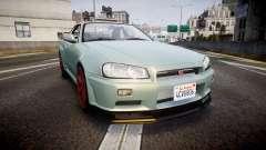 Nissan Skyline R34 GT-R M-Spec Nur
