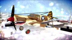 P-40E 325th Fighter Group