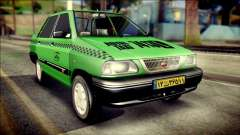 Kia Pride 141 Iranian Taxi for GTA San Andreas