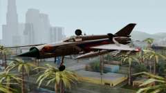 MIG-21MF Slovak Air Force SLP for GTA San Andreas