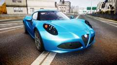 Alfa Romeo 4C 2014 HD Textures