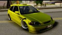 Honda Civic 1.4 Taxi for GTA San Andreas
