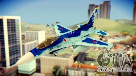 Mitsubishi F-2A JASDF v3.0 for GTA San Andreas