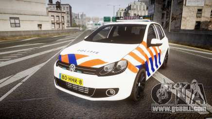 Volkswagen Golf Mk6 Dutch Police [ELS] for GTA 4