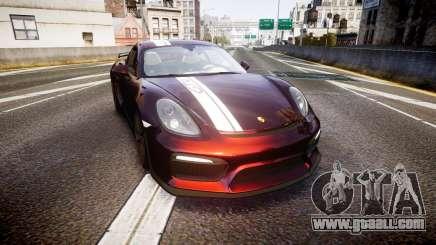 Porsche Cayman GT4 2015 for GTA 4