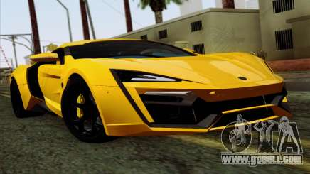 Lykan Hypersport 2014 Livery Pack 2 for GTA San Andreas