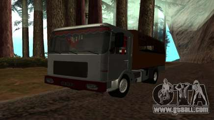 Roman Bus Edition for GTA San Andreas