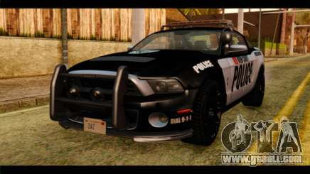 NFS Rivals Ford Shelby GT500 Police for GTA San Andreas