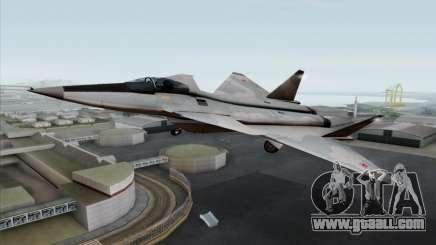 MIG 1.44 Flatpack Russian Air Force for GTA San Andreas