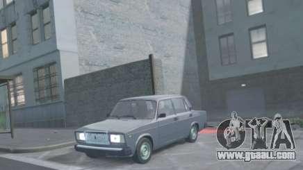 VAZ 2107 Drain for GTA 4