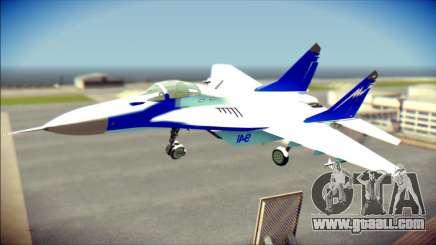 Mikoyan-Gurevich MIG-29K for GTA San Andreas