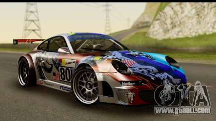 Porsche 911 GT3 RSR 2007 Flying Lizard for GTA San Andreas