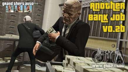 Bank robbery v0.2b for GTA 5