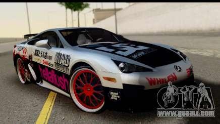 Lexus LFA 2010 Kaneki Ken Itasha for GTA San Andreas