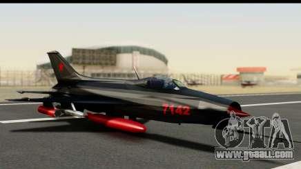 MIG-21F Fishbed B URSS Custom for GTA San Andreas