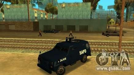 Beta FBI Truck for GTA San Andreas