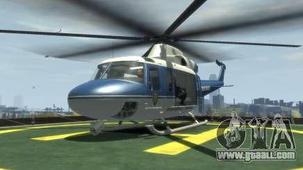 GTA III Police Valkyrie HD for GTA 4
