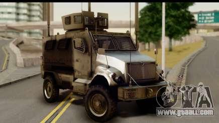 International MaxxPro MRAP for GTA San Andreas