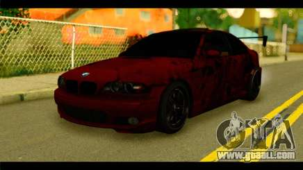BMW 330 Tuning Red Dragon for GTA San Andreas