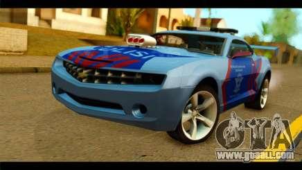 Chevrolet Camaro Indonesia Police for GTA San Andreas
