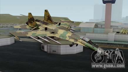 SU-35 Flanker-E ACAH for GTA San Andreas