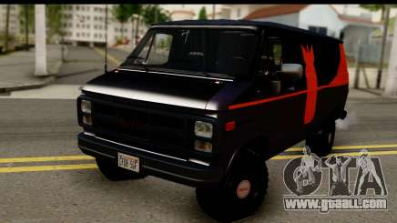 GMC Vandura G-1500 Payday 2 for GTA San Andreas