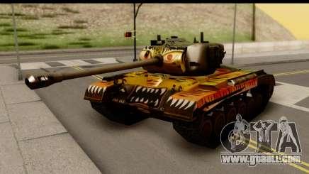 M26 Pershing Tiger for GTA San Andreas