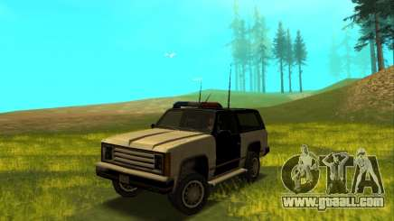 Beta Police Ranger for GTA San Andreas