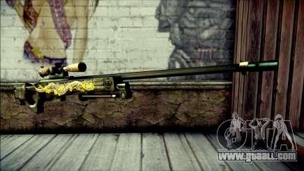 AWM Infernal Dragon CrossFire for GTA San Andreas