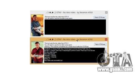 GTAV No intro video v0.9.8 for GTA 5