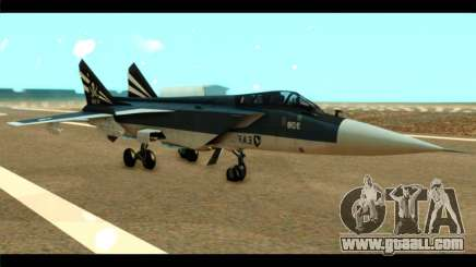 MIG-31 Pirat Squadron for GTA San Andreas
