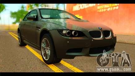 BMW M3 E92 2008 for GTA San Andreas