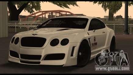Bentley Continental GT Platinum Motorsport for GTA San Andreas