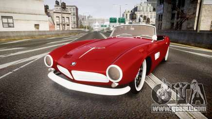 BMW 507 1959 Stock Hamann Shutt VX4 [RIV] for GTA 4