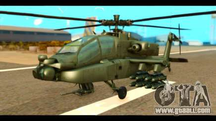 Boeing AH-64D Apache for GTA San Andreas