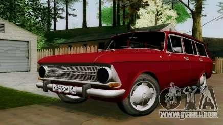 IZH-412 Wagon for GTA San Andreas