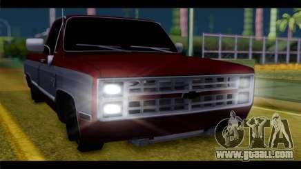 Chevrolet C10 Low for GTA San Andreas