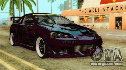 Acura RSX Hinata Itasha for GTA San Andreas