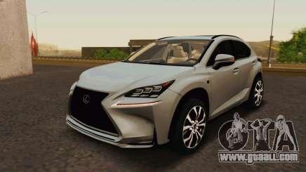 Lexus NX200T v2 for GTA San Andreas