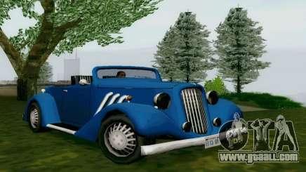 Hustler Cabriolet for GTA San Andreas