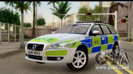 Volvo V70 Kent Police for GTA San Andreas