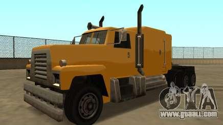 PS2 Tanker for GTA San Andreas