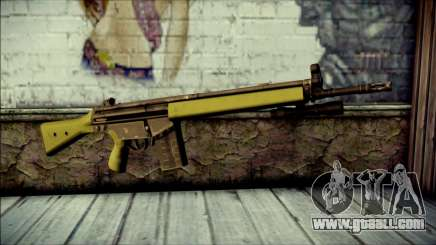 HK G3 Flashlight for GTA San Andreas