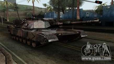 M1A2 Abrams Autumn Camo for GTA San Andreas
