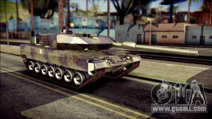 Leopard 2A6 PJ for GTA San Andreas