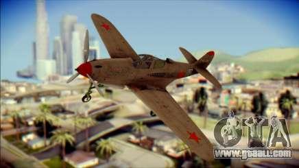 Pokryshkin P-39N Airacobra for GTA San Andreas
